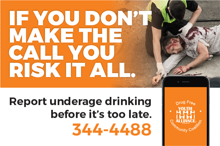 Underage Drinking Hotline campaign